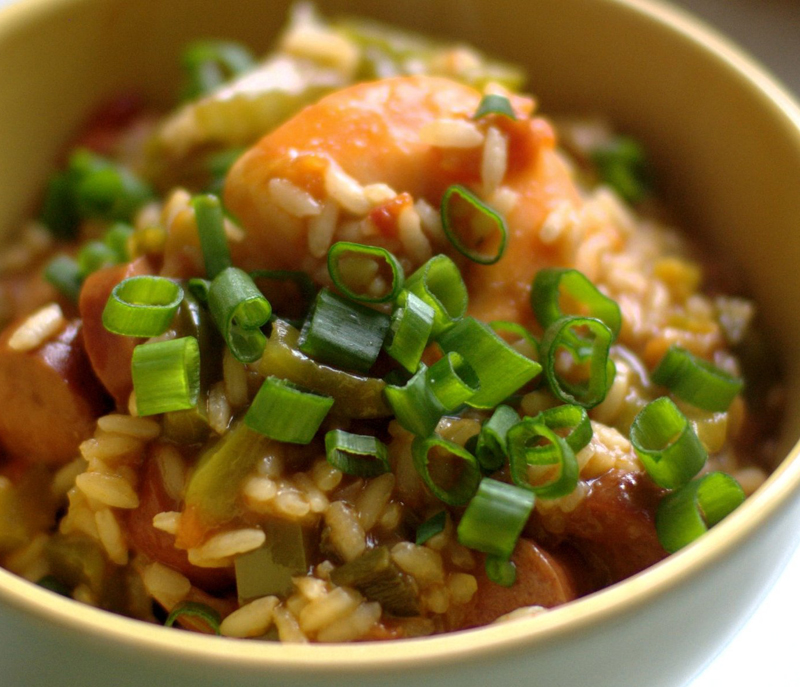 Recipe for Rice Jambalaya
