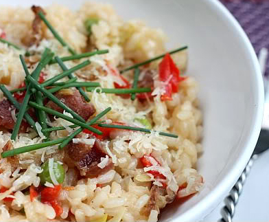 Risotto With Leeks, Cumin And Cuban Spices Recipe — Dishmaps