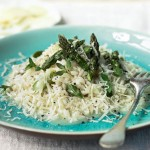 Risotto and Asparagus