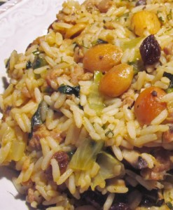 Recipe for Greek Rice