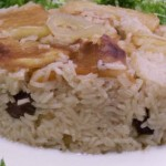 Chicken and Rice Recipe with Cauliflower Called Maklube