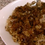 Lentils and Rice Recipe called Majedra