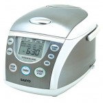 Sanyo ECJ-PX50S 5-Cup Micro-Computerized Pressure Rice Cooker and Steamer